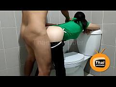 คลิปเด็ดสาวไทยหลุด สาวขาวสวยหุ่นดีให้ผัวล่อหีให้ห้องน้ำจับควยโมกเป็นพักจนน้ำควยเยิ้มสุดท้ายเย็ดโก้งโค้งจนแตก