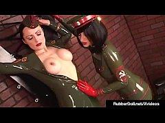 xxxporn สาวฝรั่งตำรวจเลสเบี้ยนเล่นหีเสียวหีแฉะ นมใหญ่ดูดหัวนมครางหีน้ำแตก